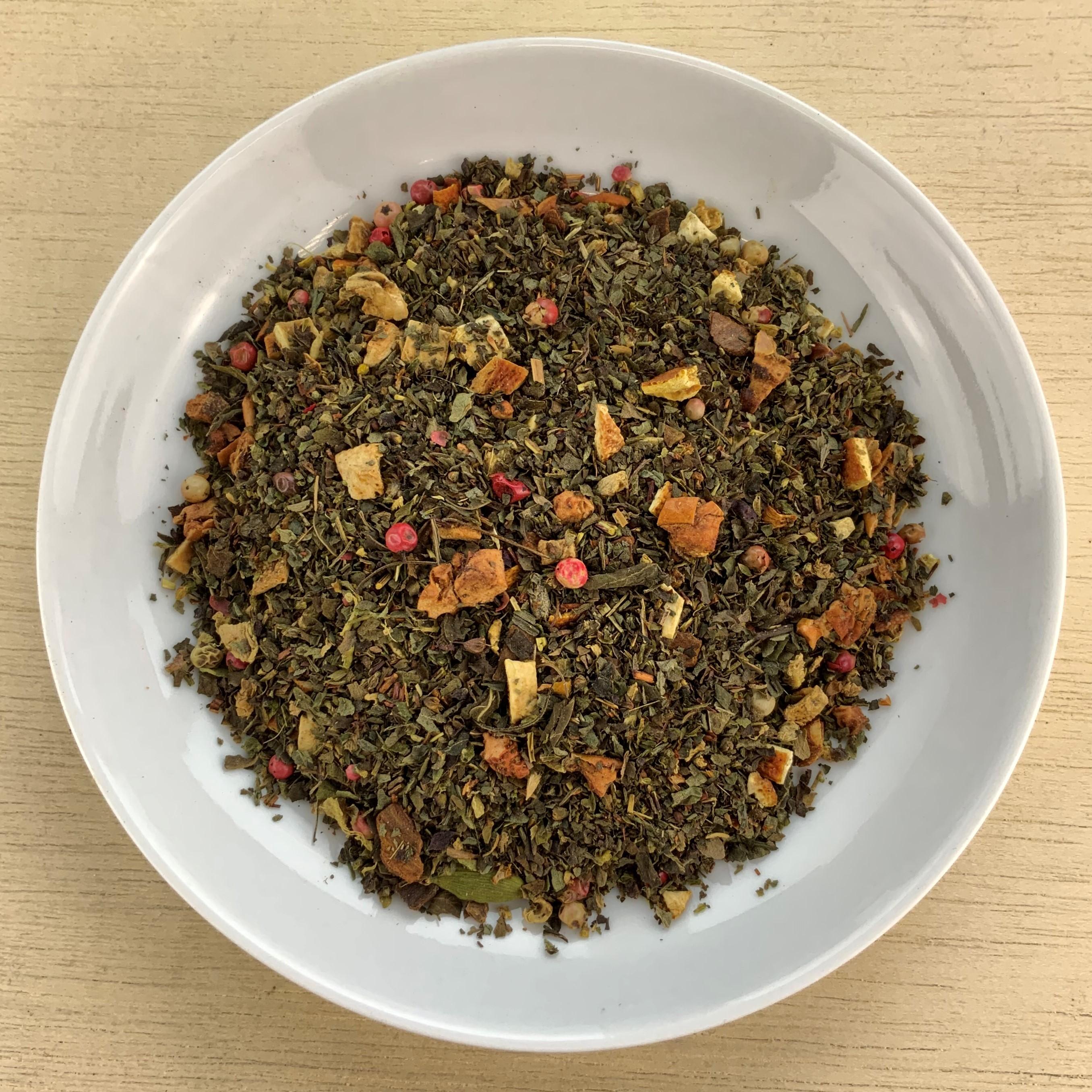 Tulsi Orange-Ingwer